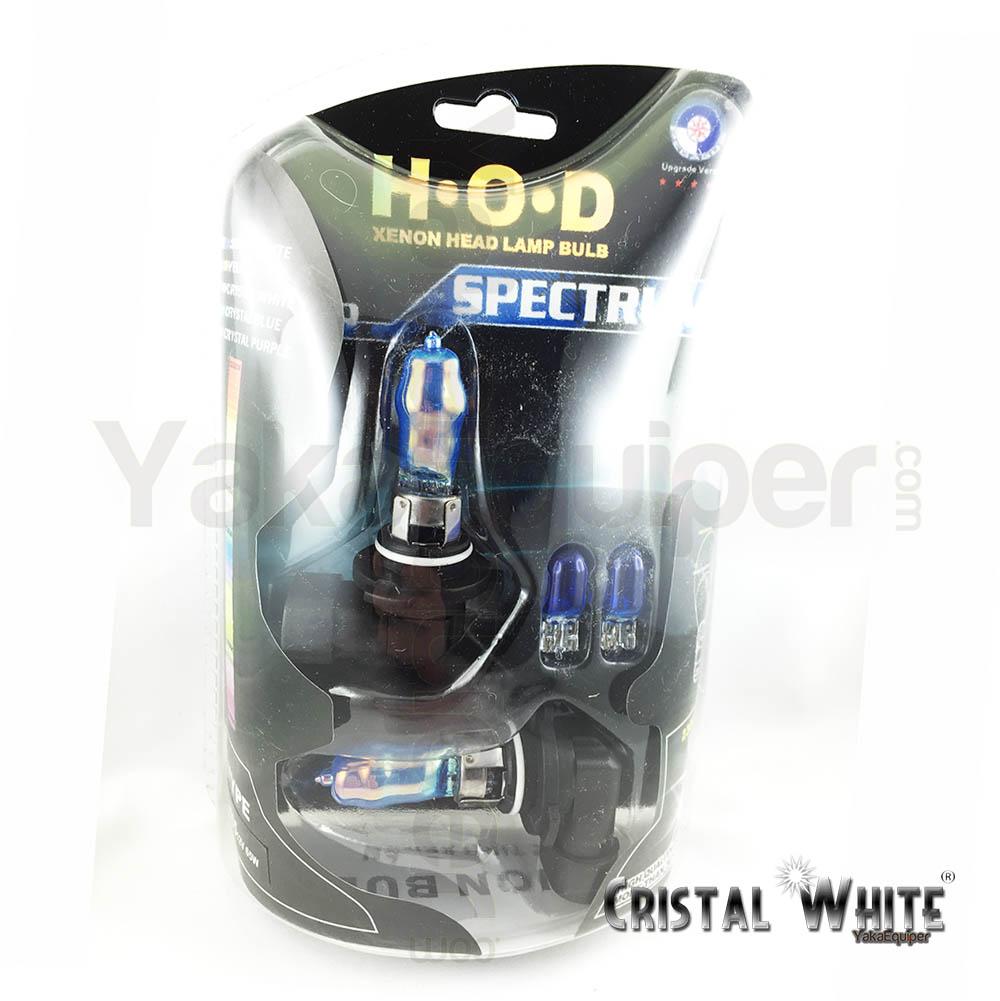 pack ampoule hb4 9006 hod effet xenon cristal white 6500k yakaequiper. Black Bedroom Furniture Sets. Home Design Ideas