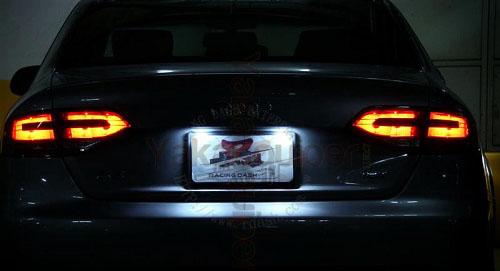 Led License Plate Pack Audi A4 S4 B8 Yakaequiper