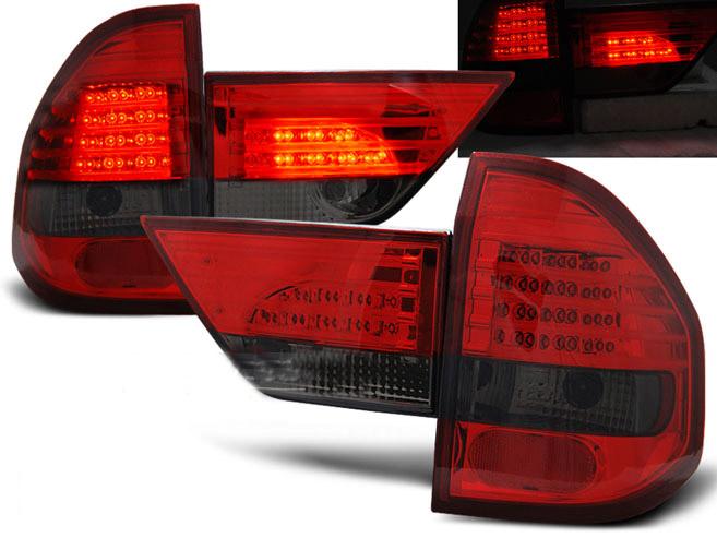 feux bmw led x3 e83 04 06 rouge teinte yakaequiper. Black Bedroom Furniture Sets. Home Design Ideas