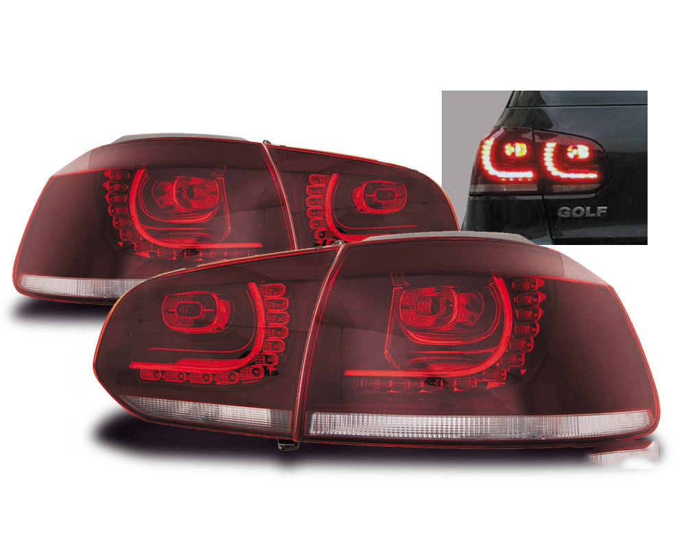 feux arriere vw golf 6 led clair yakaequiper. Black Bedroom Furniture Sets. Home Design Ideas