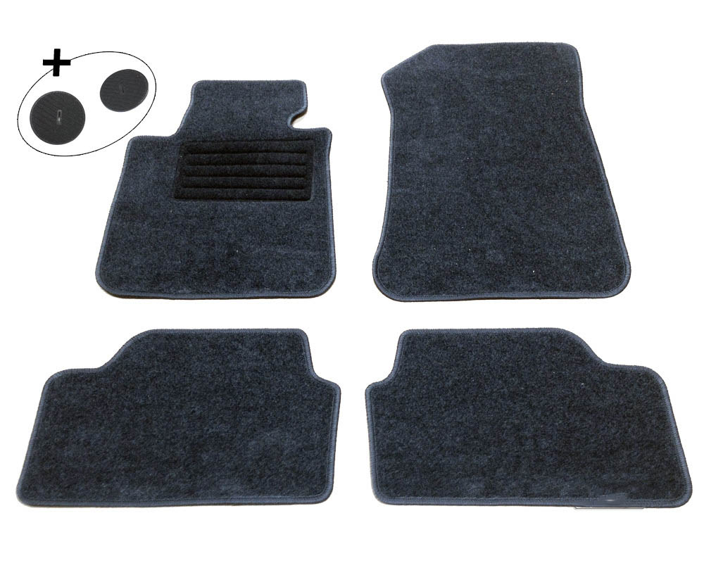 lot de 4 tapis de sol pour bmw serie 1 e87 yakaequiper. Black Bedroom Furniture Sets. Home Design Ideas