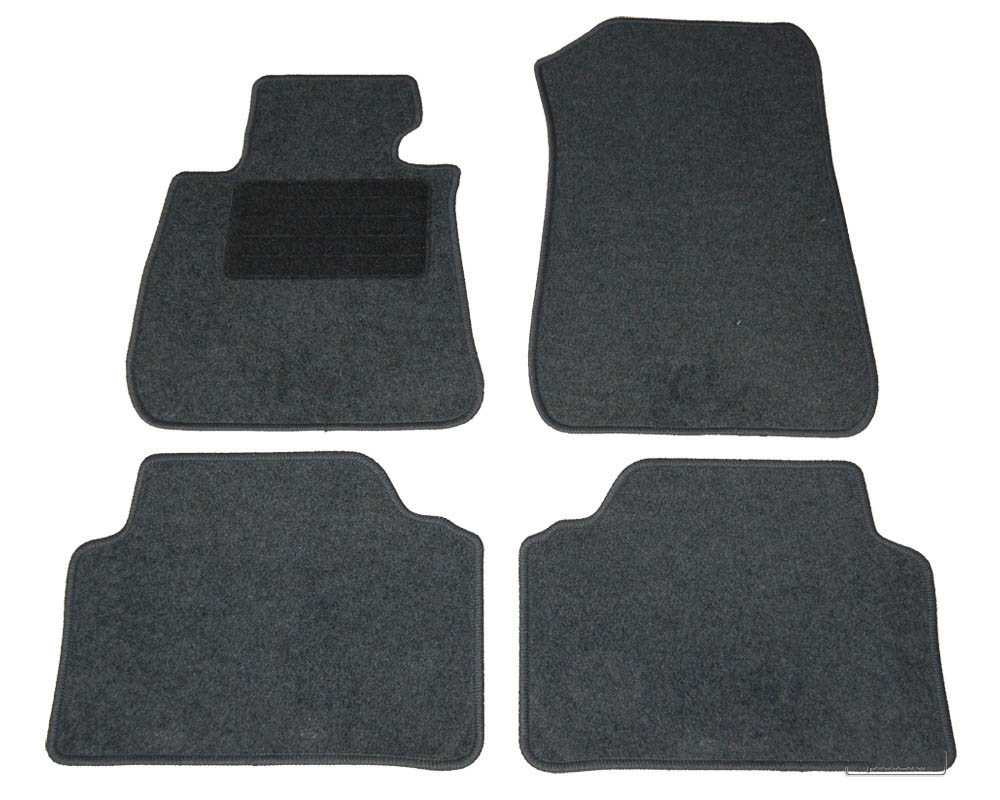 lot de 4 tapis de sol pour bmw e90 serie 3 2005 2012. Black Bedroom Furniture Sets. Home Design Ideas