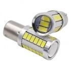 Ampoule 33LED 5730 Culot 1157 BAY15D P21/5W - Blanche
