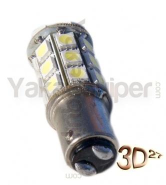 Ampoule 81 LED 1157 - Culot BAY15D P21/5W - Blanche
