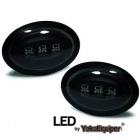 Clignotants repetiteurs LED d'aile Mini R56-57  06-10 - Noir
