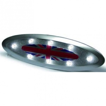 Eclairage interieur led mini r56 57 06 10 gris yakaequiper for Eclairage interieur led