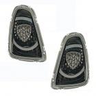 Feux arriere LED design Mini R56-57 10-14 - Noir