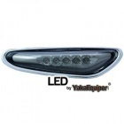 Clignotants repetiteurs LED d'aile BMW E83 E60 E46 - Noir