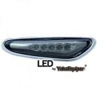 Clignotants repetiteurs LED d'aile BMW E83 E60 E46 - Noir