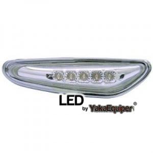 Clignotants repetiteurs LED d'aile BMW E83 E60 E46 - Chrome