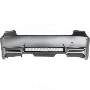 Pare choc arriere BMW Serie 3 E90 04-11 look M3 double - PDC