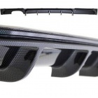 Diffuseur arriere BMW serie 3 F30 F31 M-P look carbone