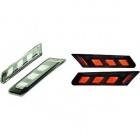 2 clignotants pour porsche 911 LED - noir