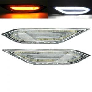 2 Clignotants d'aile LED Porsche Cayenne 11-14 - Clair