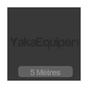 Rouleau 5 mètres Film teinté noir BLAKY 20 (moyen) / 75cm