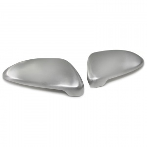 Coques adhesives retroviseur Chrome Mat pour VW GOLF 7 12-17