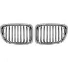 Grilles calandre BMW X1 (E84) 09-12 - Chrome
