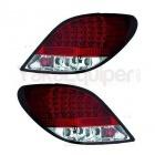 Feux arriere LED Peugeot 207 06-12 - Clair