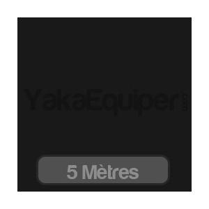 Rouleau 5 mètres Film teinté noir BLAKY 5 (foncé) / 75cm