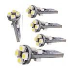 5x Ampoule T10 LED 3D<sup>8</sup> - Anti Erreur OBD - Culot W5W - Blanc Pur