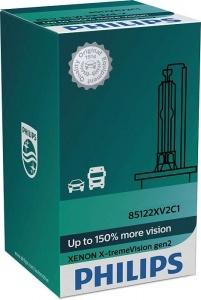 1 Ampoule Xenon D2S X-treme Vision gen2 85122XV2 Philips
