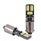 Ampoule T4W LED Twin3 5730 - Anti Erreur OBD - Culot BA9S - Blanc Pur