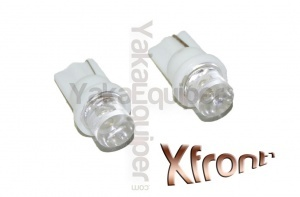 Pack T10 LED Xfront<sup>1</sup> - Culot W5W - Blanc Xenon