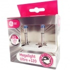 Pack 2 ampoules H1 GE Megalight Ultra +120