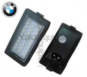 Pack LED plaque immatriculation BMW Serie 7 E38