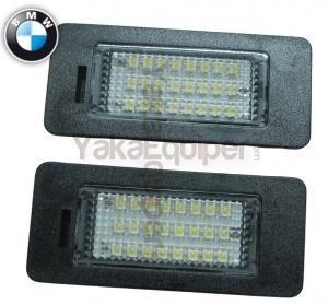 Pack LED plaque immatriculation BMW Serie X1 E84