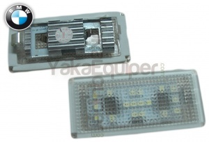 Pack LED plaque immatriculation BMW Serie 7 E66