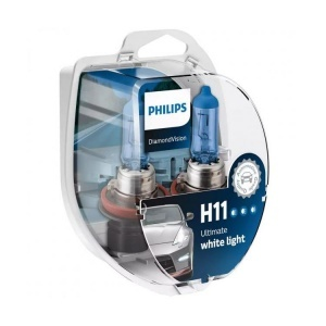 Pack 2 ampoules H11 Diamond Vision Philips