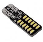 Ampoule T10 LED Twin12 3014 - Anti Erreur OBD - Culot W5W - Blanc Pur