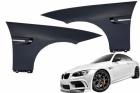 Kit Ailes avant droite et gauche au look M3 BMW Serie 3 E92 E93 06-09