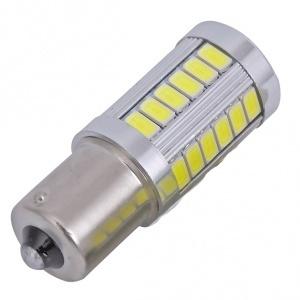 Ampoule 33LED 5730 S25 R5W 1156 BA15S P21W - Blanche