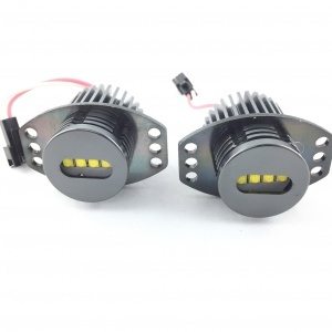 Ampoules LED 40Watts LUXE V4 angel eyes BMW E90 E91 - Blanc
