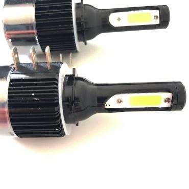 2 Ampoules LED H15 HEADxtrem C6 7600lumens 72W - Blanc Pur