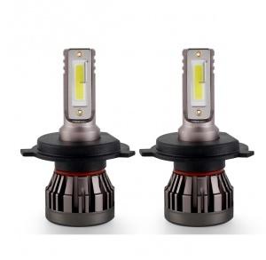 2 Ampoules LED H4 ultraMini 10000lumens 6000K - Blanc Pur