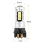 1 Ampoule 30 LED 4014 PW24W PWY24W - Blanche