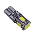 3+1 GRATUIT Ampoule T10 LED 3D<sup>5</sup> SMD- Anti Erreur OBD - Culot W5W - Blanc Pur