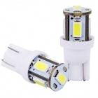 Ampoule T10 LED 3D<sup>5</sup> SMD - Culot W5W - Blanc Pur