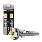 Ampoule T10 LED 3D<sup>8</sup> - Anti Erreur OBD - Culot W5W - Blanc Pur