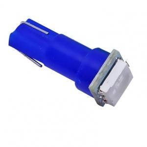 Ampoule T5 LED 1 SMD - Culot W1.2W - Bleu