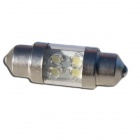 Navette 39mm LED Nav<sup>6</sup> - Culot C7W - Blanc Pur