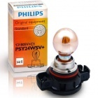 1 ampoule chrome PSY24W Philips Silver Vision