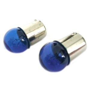 2 ampoules G18 BA15S R5W 12V 5W effet xenon