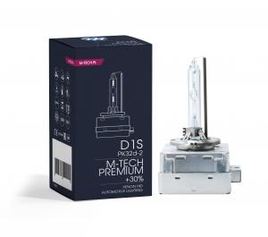 1 Ampoule xenon M-TECH Premium +30% D1S 4300K