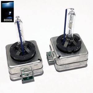 Pack Ampoules Xenon D3S 8000K 35W