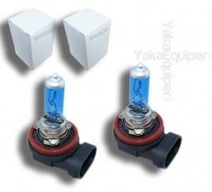 3+1 GRATUIT Pack 2 Ampoules H11 Effet Xenon - Super White 5000K