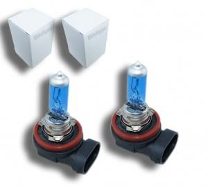Pack 2 Ampoules H11 Effet Xenon - Super White 5000K
